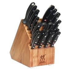zwilling j a henckels twin signature 19 piece knife set with block