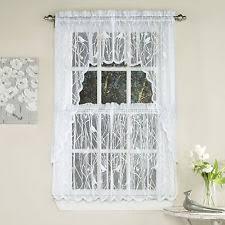 White Lace Valance Curtains Lace Valance Ebay