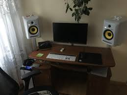 Studio Monitors On Desk by Lets See Some Studio Pics Topic In The U0027everything Else Music