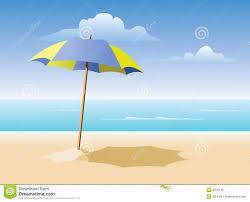 Beech Umbrella Beach Umbrella On The Beach Stock Photos Image 8910243