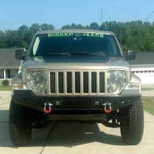 Sierra Front Bumper For 08 12 Jeep Liberty Kk At The Helm Fabrication
