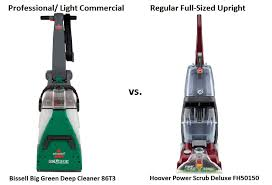 Rug Dr Rental Price Professional Vs Regular Upright Home Carpet Cleaners Comparison