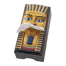 king tut tissue box cover ql404110 design toscano