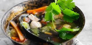 cuisine chinoise facile soupe chinoise facile au poulet et aux légumes facile recette sur