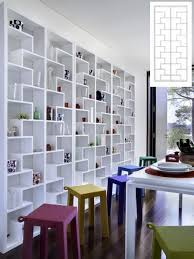Oak Room Divider Shelves Temahome Ivy Room Divider Shelf Unit In Pure White Trendy