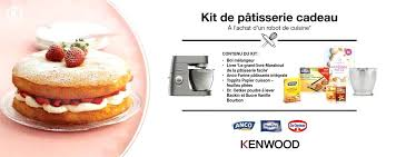 livre de cuisine kenwood livre de cuisine kenwood kenwood kit de patisserie cadeau livre de