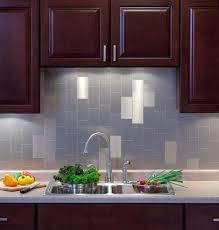 Peel U Stick Glass Mosaic Tile For Kitchen Backsplash Peel - Stick on kitchen backsplash