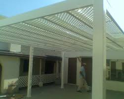 vinyl patio covers picket patio covers close top patio covers