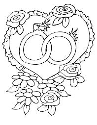 Fabuloso Desenho de Alianças de casamento para colorir - Tudodesenhos #MP63