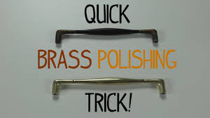 Household Brass Cleaner Quick Brass Polishing Trick Youtube