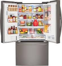 lg bottom freezer french door refrigerator lfxs30766d lg 30 cu ft super capacity french door refrigerator