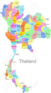 thailand vector map thailand map royalty free cliparts vectors and stock