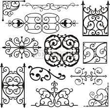 wrought iron ornaments doors iron ornament and