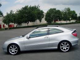2002 mercedes c180 kompressor coupe 74000 miles 6 speed manual