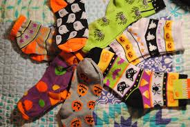 halloween fun socks blackbird
