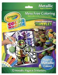 amazon com crayola color wonder teenage mutant ninja turtles