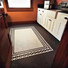 Black And White Ceramic Floor Tile Victorian Black And White Bathroom Floor Tiles Ideas And Pictures
