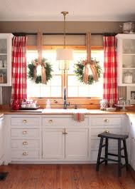 Kitchen Sink Curtain Ideas Awesome Drapes For Kitchen Window Best 25 Kitchen Window Curtains