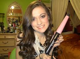 remington curl wand hair tutorial youtube