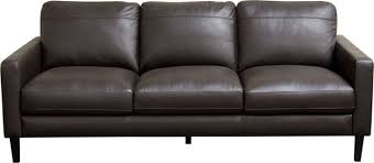Omega Full Leather Sofa Transitional Sofas By HedgeApple - Full leather sofas
