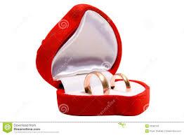 Favorito Anel De Casamento Na Caixa Vermelha Stock Photos - 705 Images &QR09