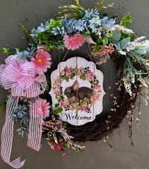 easter wreath easter bunny wreath bunny wreath easter bunny