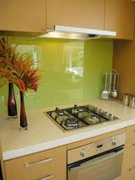 Glass Backsplash Kitchen Solid Glass Backsplash You Can Paint The Wall Behind It Any Color