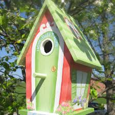 painted bird house making one like this soon crafty and artsy