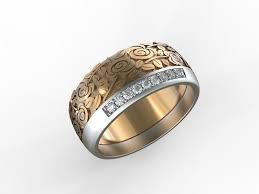 2 wedding rings 3d print model wedding rings stl cgtrader