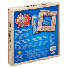 ideal 4 way countdown game walmart com