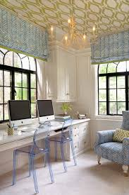 Office Chandelier Ceiling Light Fixture Home Office Transitional With Arched Windows