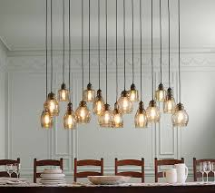 What Is Pendant Lighting Paxton Glass 16 Light Pendant Pottery Barn