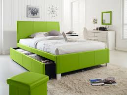 Black And Green Bedding Bedroom Trundle Beds With Grey Rug Design And Green Bedding Also
