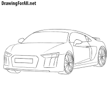 koenigsegg one drawing how to draw an audi r8 drawingforall net