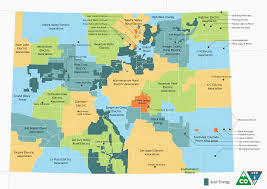 Map Of Colorado Cities by Electric Utilities Colorado Energy Office