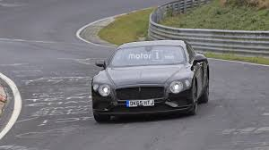 bentley suv 2018 2018 bentley continental gt gtc stalked at the nurburgring 29