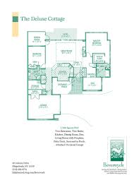 floor plans for cottages spacious floor plans for beverwyck u0027s senior apartments u0026 cottages