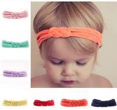 toddler headbands 2017 baby knot headbands jersey knit knotted tie headband trendy