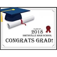 graduation decor congratulations graduation poster congrats grad school