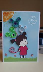 cute birthday card disney handcraft for little brother birthday
