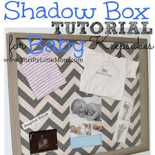 keepsake items shadow box for baby keepsakes thrifty