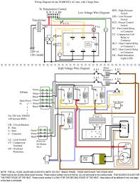 room thermostat wiring diagrams for hvac systems with two stage