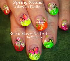 roses and glitter 17 gorgeous spring nail designs colorful spring