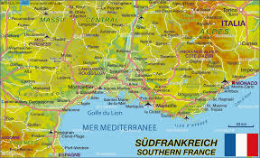 map of perpignan region map of southern map in the atlas of the world