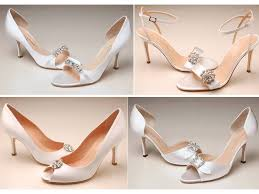 wedding shoes peep toe peep toe and open toe bridal heels with swarovski details