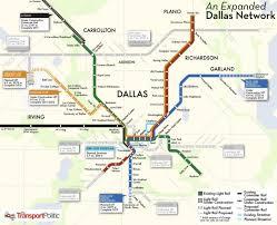 Map Dallas Tx by Dallas Rail Map Dallas Train System Map Texas Usa