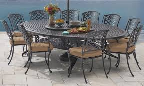 Cast Aluminum Patio Furniture Appealing Cast Aluminum Patio Set With Cast Aluminum Patio