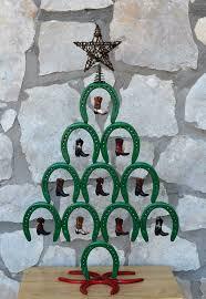 horseshoe tree shoe ornaments ornament