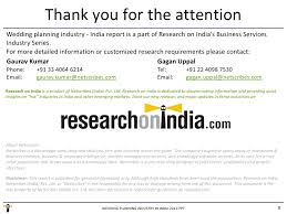 preparation of event plan for wedding market research report wedding planning industry in india 2011