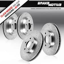 front and rear brake rotors fits g35 g37x g37 m35 m45 350z 370z